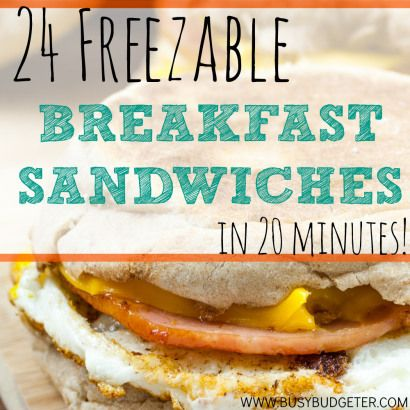 Freezer Breakfast Sandwiches... Is it Worth it? - The Busy Budgeter