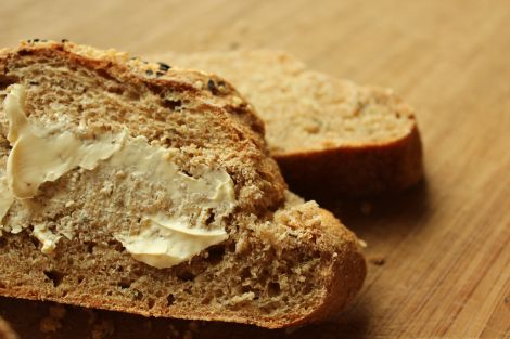 Artisan bread with garlic and thyme | Recipes | Pinterest