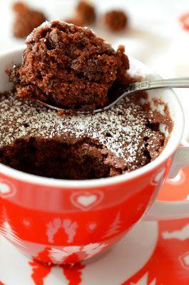 Ninas kleiner Food-Blog: Mix für Superschnellen Microwellen-Tassenkuchen