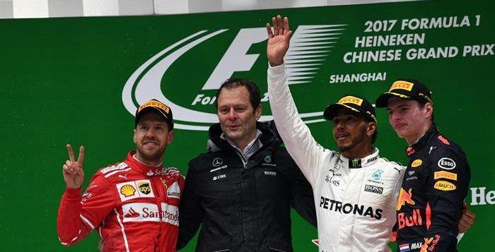 F1 2017 China, Hasil Balap dan Klasemen Sementara