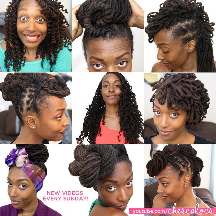 351 best African American Locked Formal and Informal Hairstyles ...