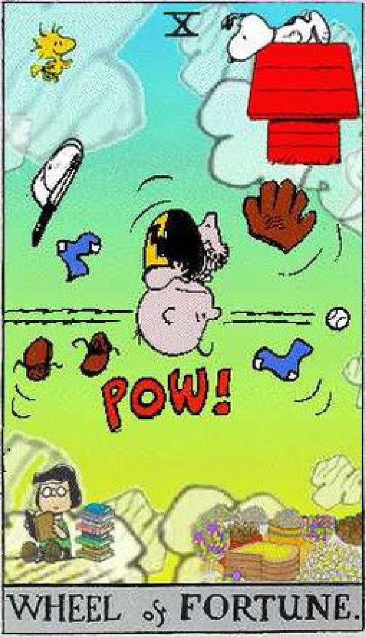 81 Best The Peanuts Tarot Images On Pinterest Oracle Cards Tarot