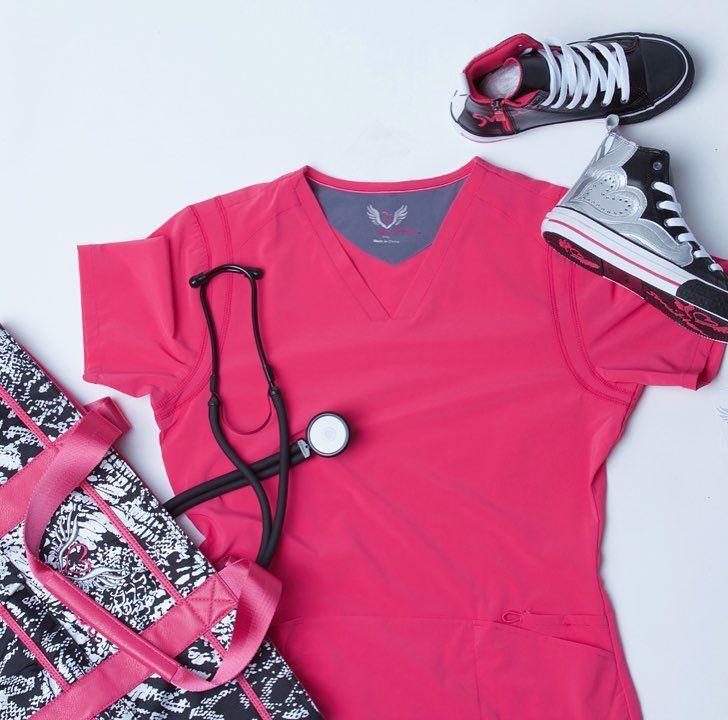 We are rockin' Smitten #Pink to kick off Breast Cancer Awareness month!  . . . . #smittenscrubs #scrubs #medicine #october #survivor #suport #comfy #bold #breastcancerawareness #love #nurse #nursing #vet #veterinary #dentist #warrior #optometry #nurseslife #nursingstudent #medicalschool #scrubstyle  #vettech #doctorslife #doctor
