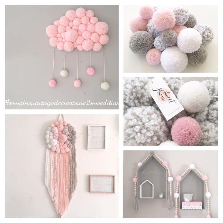 25+ melhores ideias de Pompons no Pinterest | Pom poms ...: https://br.pinterest.com/explore/pompons/