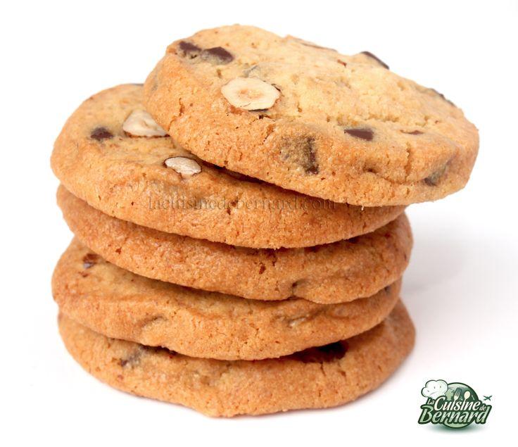 La Cuisine de Bernard : Cookies Chocolat Noisettes