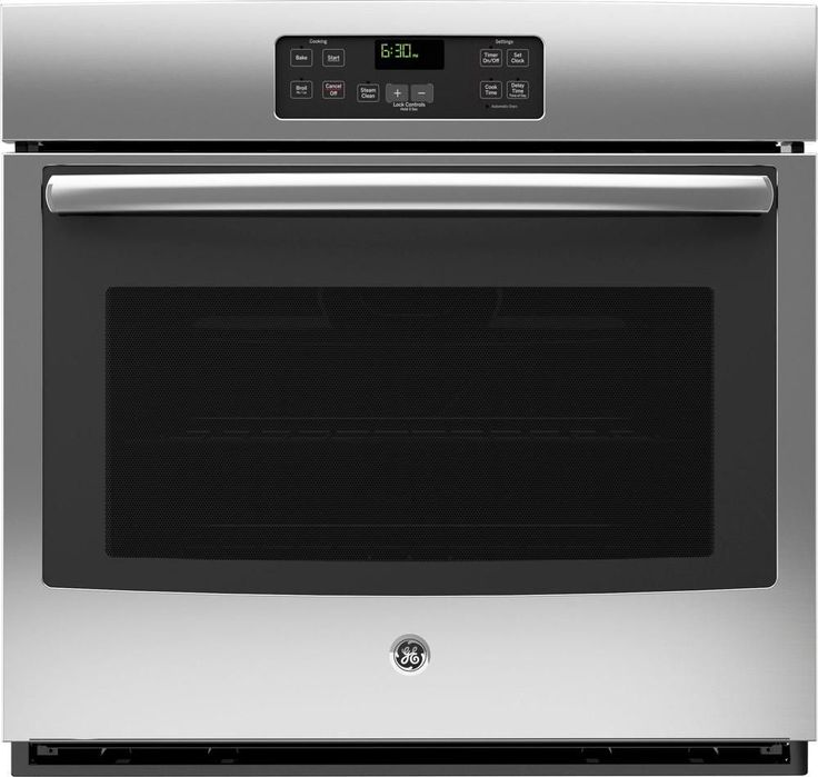 """GE - 30"""" Built-In Single Electric Wall Oven - Stainless Steel (Silver)"""
