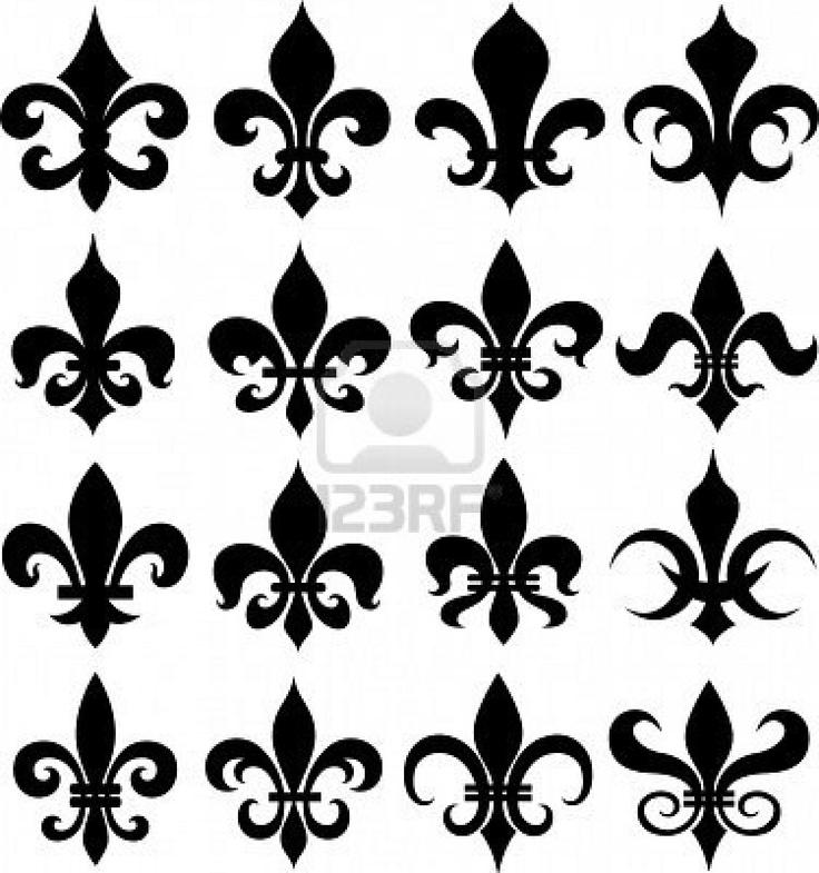 1000 images about flor de lis on pinterest folk art clip art and free cross stitch patterns. Black Bedroom Furniture Sets. Home Design Ideas