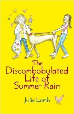 """The discombobulated life of Summer Rain"", by Julie Lamb - Making people laugh is what Summer does best. It's how she fits in. And is it any wonder with a family like hers? Top of the list of crazies is Pop, her stingy grandfather, who whips up possum stews and turns chicken scraps into the worst school lunches ever. So why does Juanita suddenly want to be her friend? 2017 Winner Junior Fiction, Esther Glen Award anf Best First Book Award."