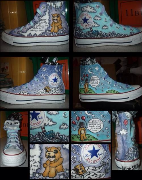 Fall out boy shoes ... these should be mine.