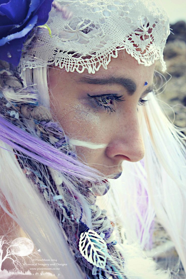 ☆©PixieMoon.co.nz 2014☆Concept PixieMoon ☆©PixieMoon 2014☆ Talent: The gorgeous ☆Shelly☆ Headpiece and dreads - PixieMoon