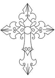 Image result for cool christian cross drawings