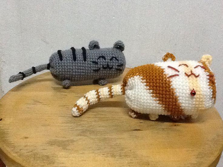 Amigurumi Pusheen Cat : 2 Pusheen cat ? ? Thank you for like my Pusheen cats :D ...