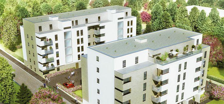 Découvrez un magnifique programme #immobilier à Rennes – éligible Loi Duflot. #loiduflot