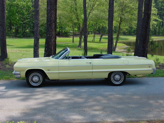 1964 ss impala convertible yellow | Antique Cars, Classic Cars Collector, Cars for sale and Trucks for ...