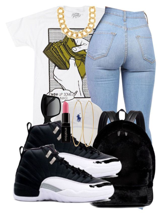 """""""Ayo-Chris Brown"""" by nicolegotswag555 ❤ liked on Polyvore featuring STELLA McCARTNEY, Alexander Wang, 10 Bells, Social Anarchy and Smashbox"""