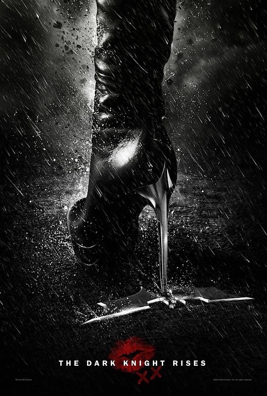 The Dark Knight Rises   Catwoman Poster - sexy!