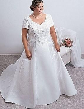 Свадебные платья для толстушек фото - http://1svadebnoeplate.ru/svadebnye-platja-dlja-tolstushek-foto-3020/ #свадьба #платье #свадебноеплатье #торжество #невеста