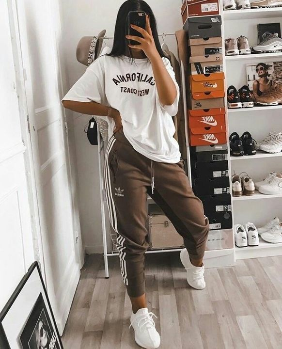 Casual Day Outfit Lazy Day Look Cozy Style At Home