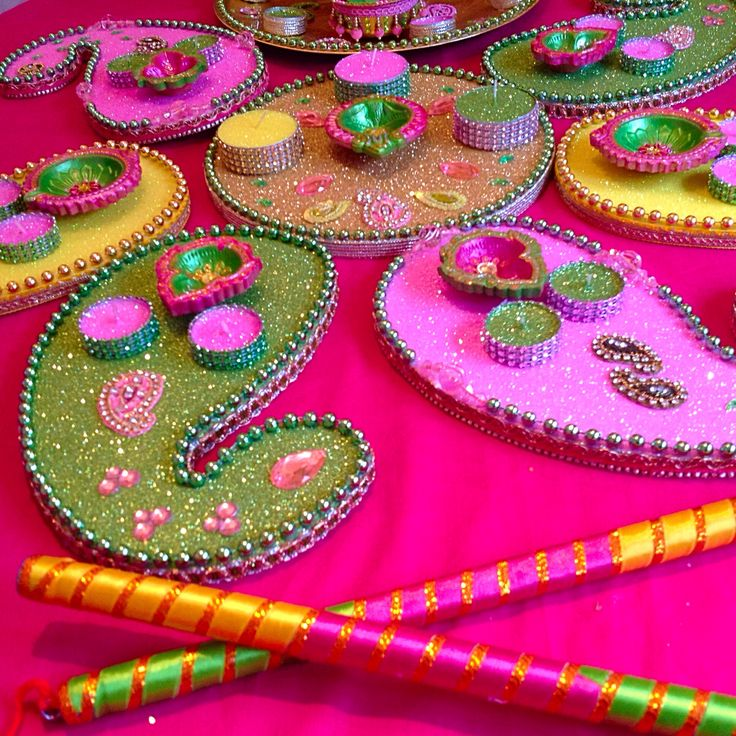 Mehndi Plates Decoration : Best images about mehndi plates on pinterest