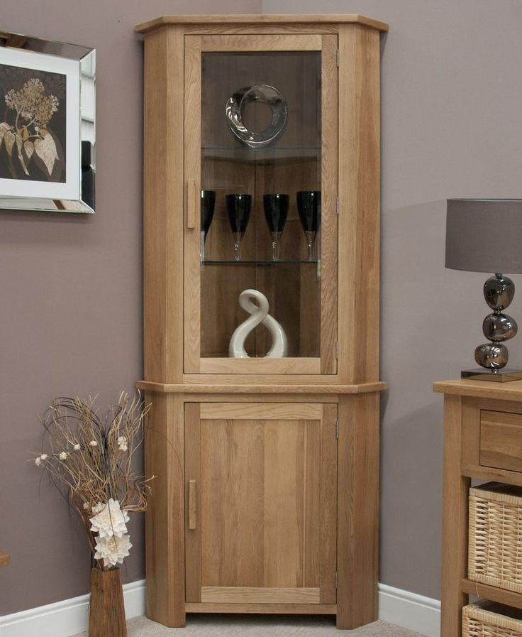 Details About Eton Solid Oak Living Room Furniture Corner