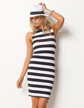 Supre white singlet dress