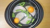 """楽天が運営する楽天レシピ。ユーザーさんが投稿した「レンジで簡単♪我が家の""""ハムエッグ""""」のレシピページです。お弁当に大活躍☆。ハムエッグ。卵,スライスハム,コショウ"""