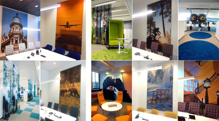 Custom designed patterns for companies and the public sector by Taiga Colors.