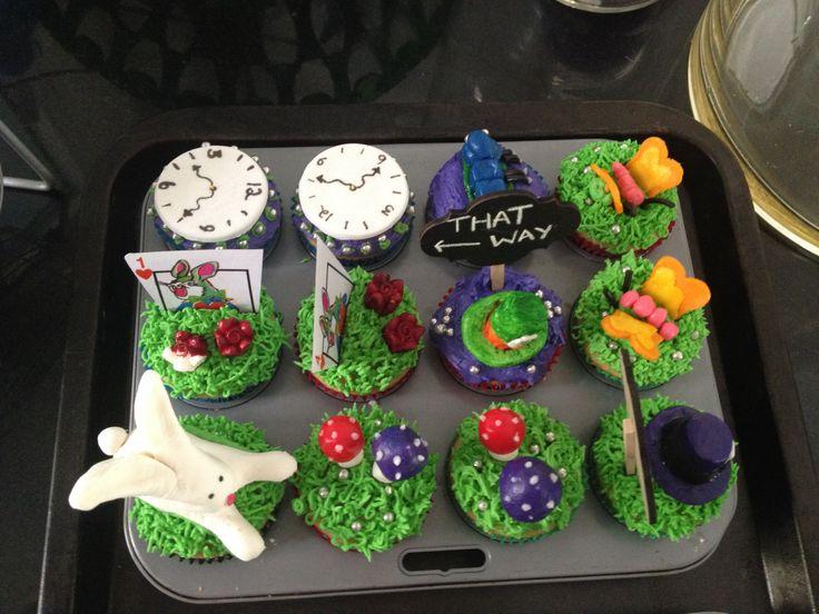 Alice Cupcakes!