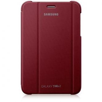 Oryginalne etui do Samsung Galaxy Tab 2 w wersji 7-calowej. Ochrania i zapewnia wygodę w codziennym użytkowaniu tabletu. Funkcja nachylenia ułatwia pisanie, oglądanie filmów lub zdjęć, gdziekolwiek jesteś.  Produkt w kolorze ciemnoczerwonym.