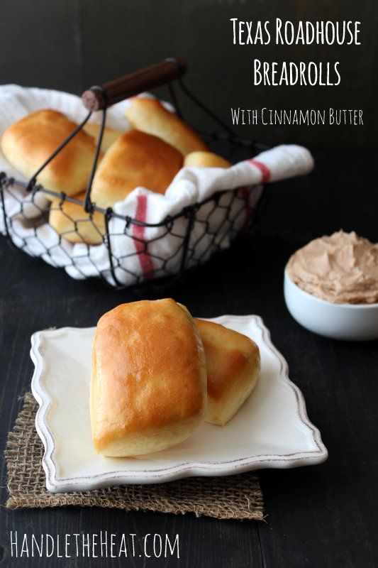 Make those famously delicious Texas Roadhouse Bread Rolls with Cinnamon Butter at home with this easy recipe complete with step-by-step photos.