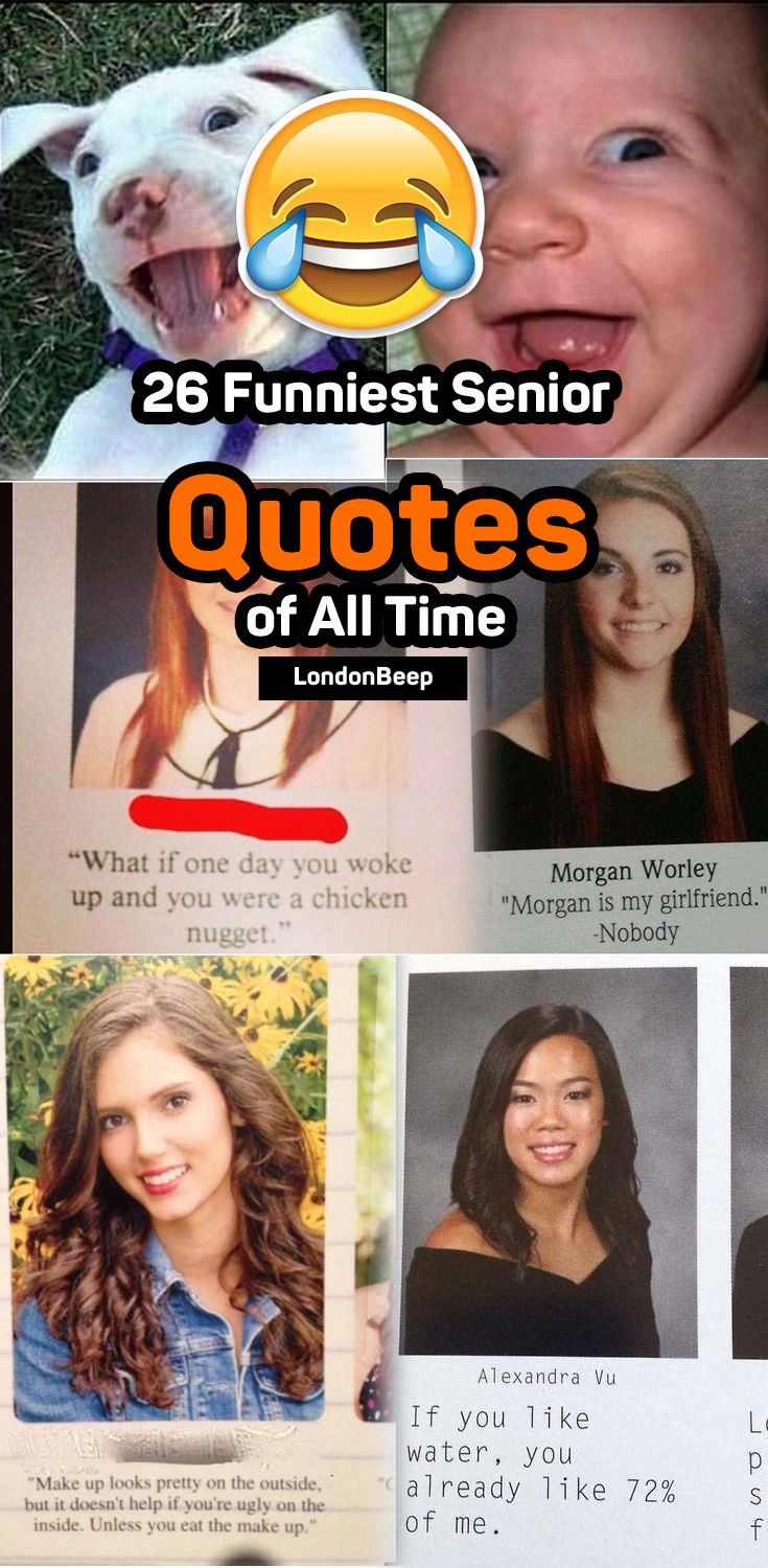 26 Funniest Senior Quotes of All Time  #funny #quotes