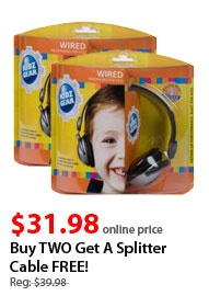 $31.98 2 pack of headphones for DVD player