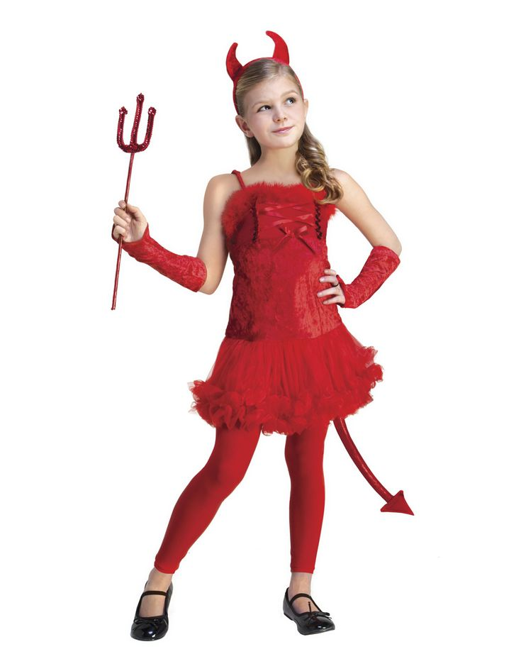 Know Kids devil halloween costumes phrase