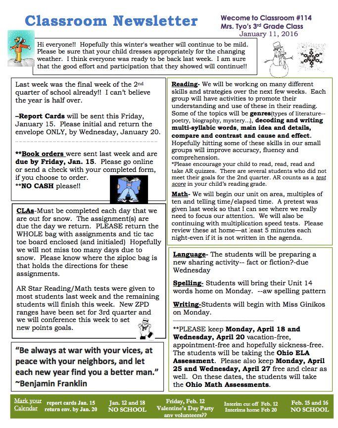 Viac ako 25 najlepších nápadov na tému Newsletter sample na - school newsletter