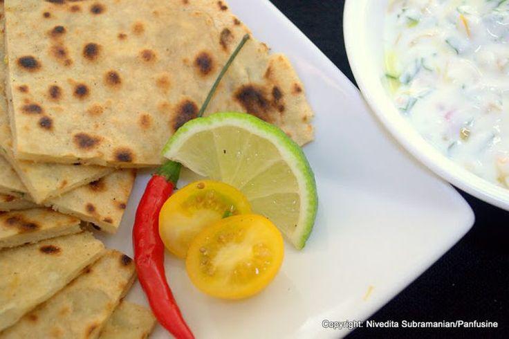 Rosemary Alu Paratha (Potato Parathas with Fresh Rosemary) recipe on Food52
