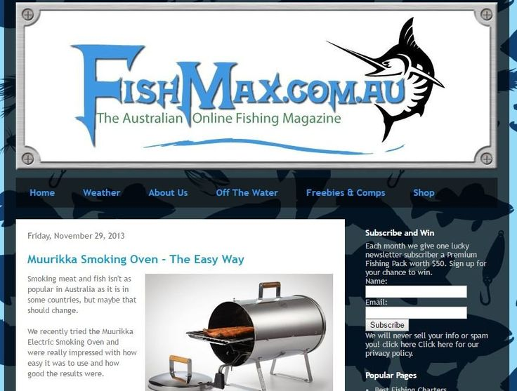 Electric Smoker Product Review | FishMax | Muurikka Electric Smoker