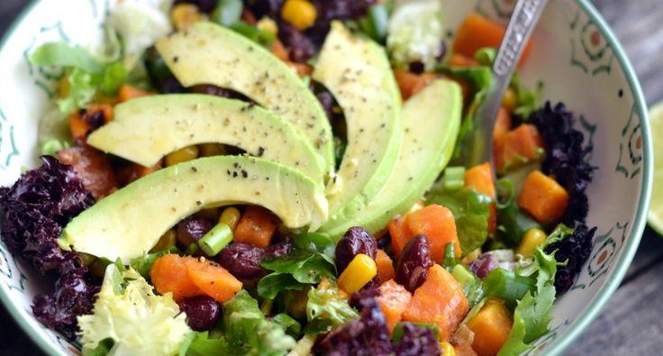 Avokádós édesburgonya saláta recept | APRÓSÉF.HU - receptek képekkel