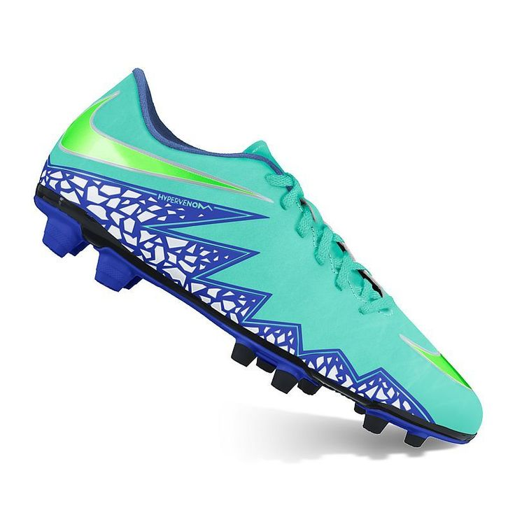 These women\u0027s Nike HyperVenom Phade II soccer cleats feature an  accommodating fit, allowing you to dominate the field with comfort and  agility.