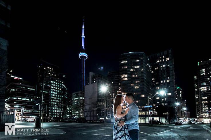 Jen + Marino / Downtown Engagement - Toronto Wedding Photographer