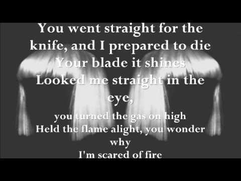 "Sia - Straight For The Knife (Lyrics) ""1000 Forms Of Fear"""