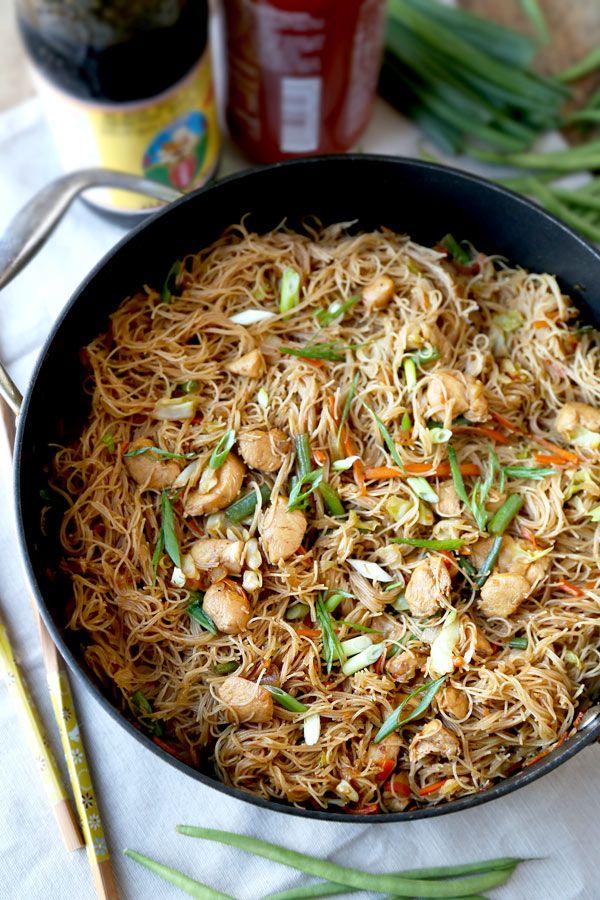 how to make sotanghon noodles