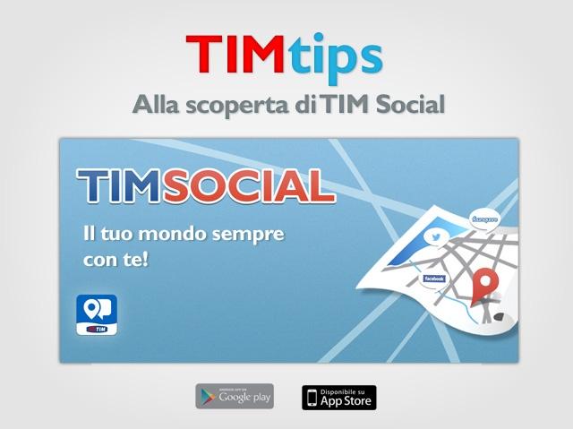TIM Social - Il tuo mondo sempre con te!