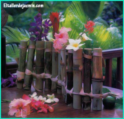 M s de 25 ideas incre bles sobre ca as de bambu en - Canas de bambu decoracion exterior ...