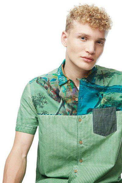 Camisa Jose Desigual. Descubre la colección otoño-invierno 2017. ¡Devoluciones y envío a tienda gratis!