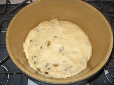 gevlochten brood recept met rozijnen