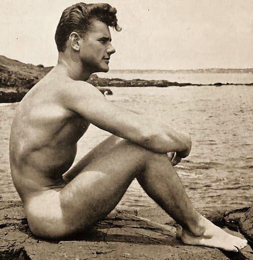 Vintage nude male