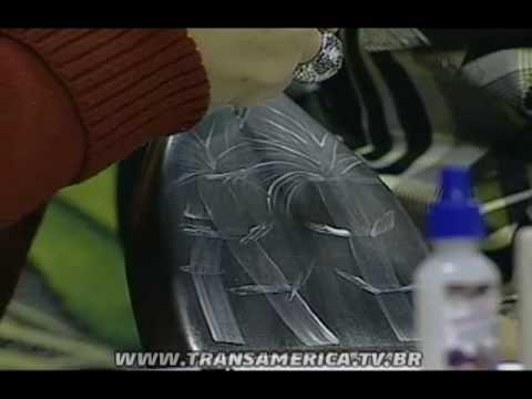 Tv Transamérica - Artesanato: Técnica efeitos com befume