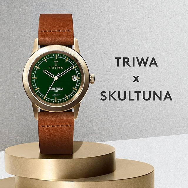 Classic heritage from 1607 meets contemporary design from 2007 in our latest drop, TRIWA x SKULTUNA II. Our second watch in collaboration with Swedish brass company Skultuna. Shop at TRIWA.com!