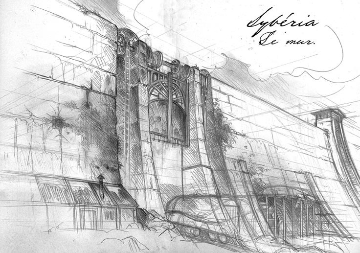 sketches : The Wall