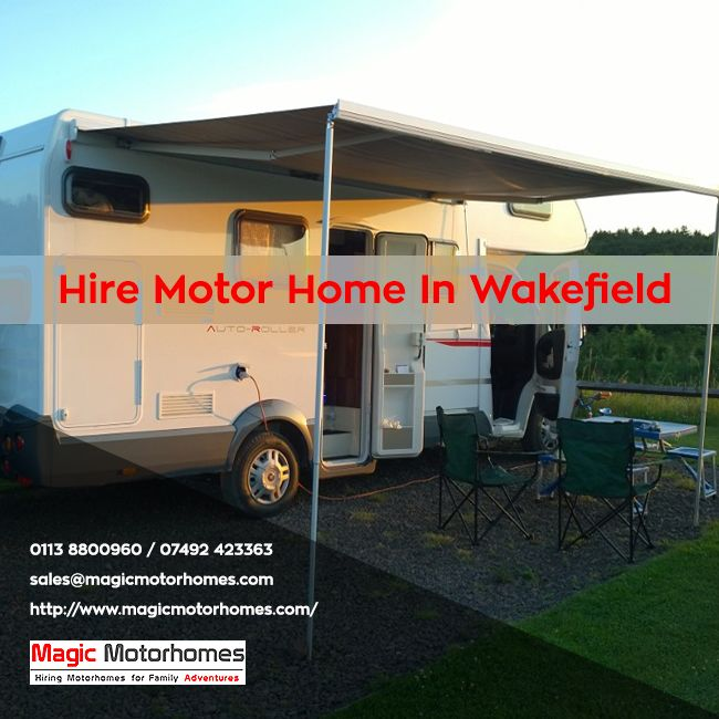 You have the possibility of enjoying a perfect countryside holiday and enjoy the scenic beauty while also having the comfort of your own home. Companies that offer Motor home hire Wakefield will have the perfect solution with the appropriate vehicle at your disposal. Hire them on a weekly basis online and drive off to serenity.  Read More: - http://www.magicmotorhomes.com/motor-home-holiday/  Contact: - 0113 8800960 / 07492 423363 Email id:- sales@magicmotorhomes.com Morley, Leeds